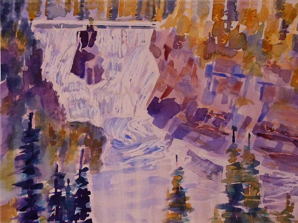 Charlene Brown.Kakabeka Falls